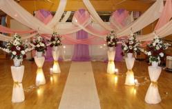 Add Elegance To Your Wedding Reception Decor With Fabric